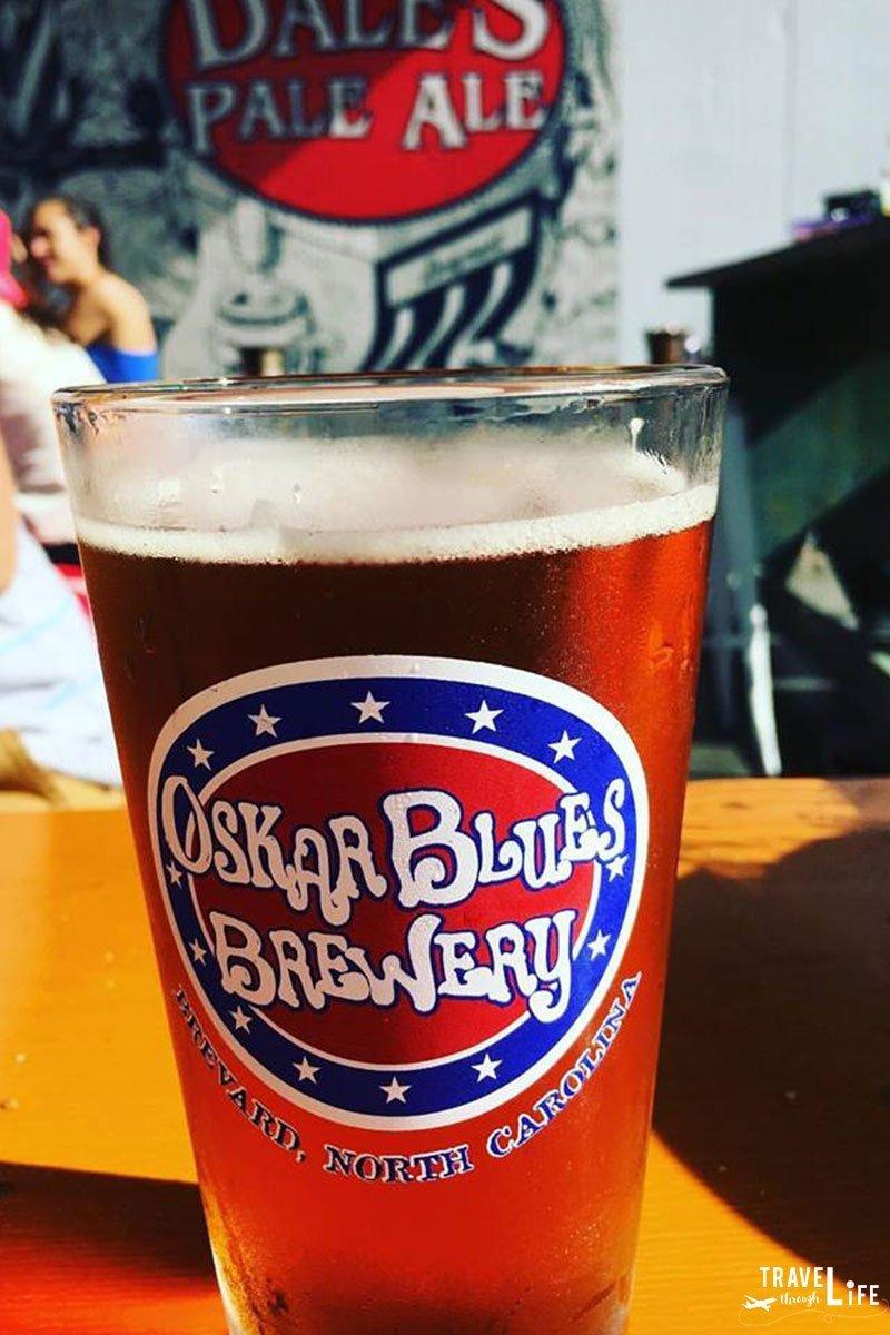 Brevard NC Restaurants Oskar Blues Brewery