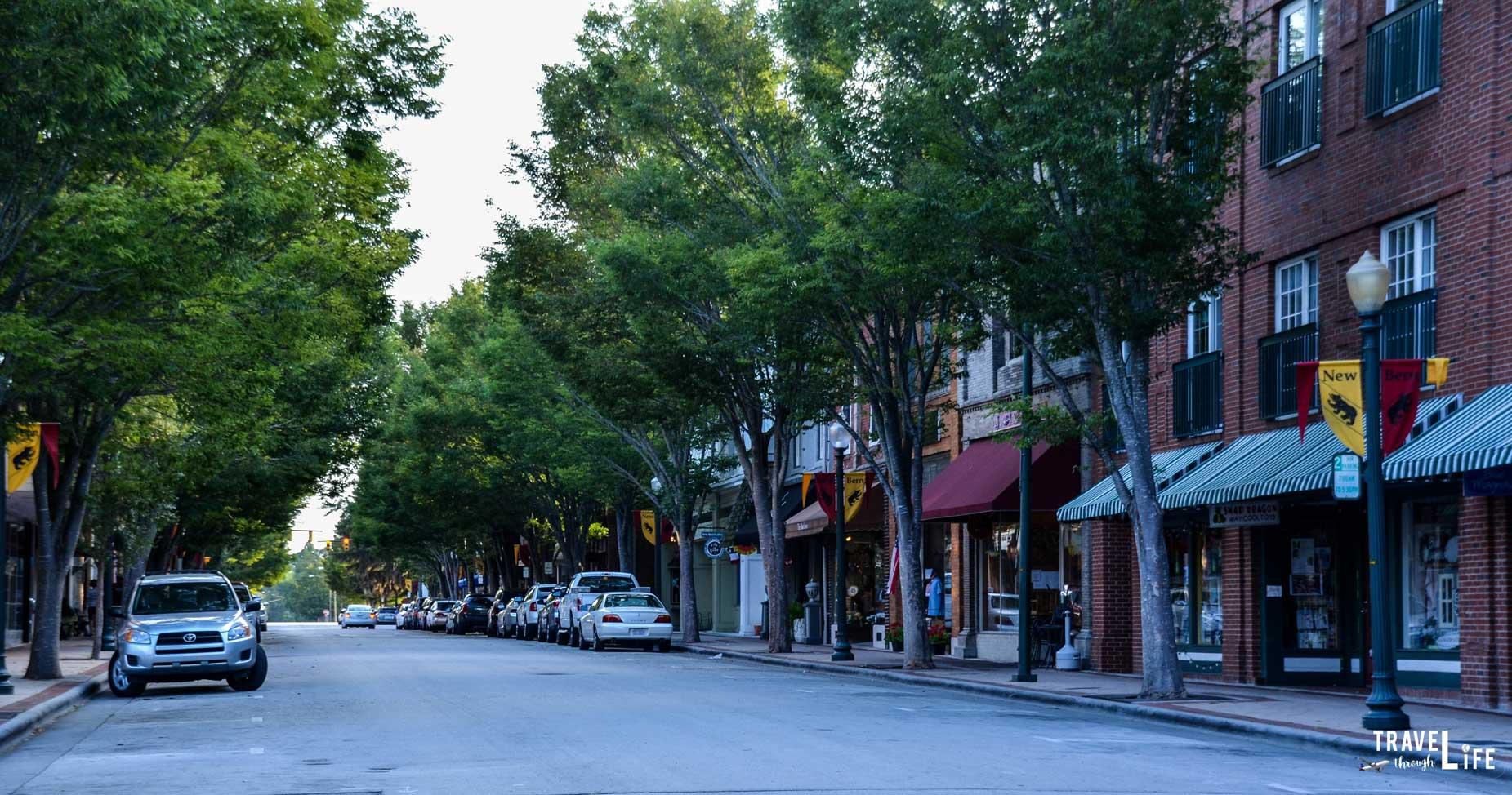 Downtown New Bern North Carolina
