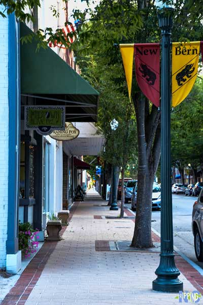 Things to do in New Bern NC Walk around Downtown