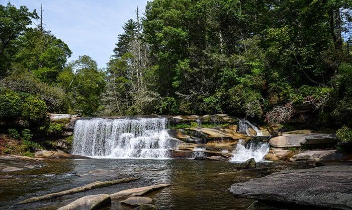 French Broad Falls NC Image