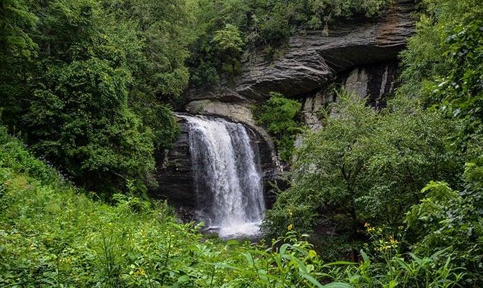 Looking Glass Falls near Brevard NC Image