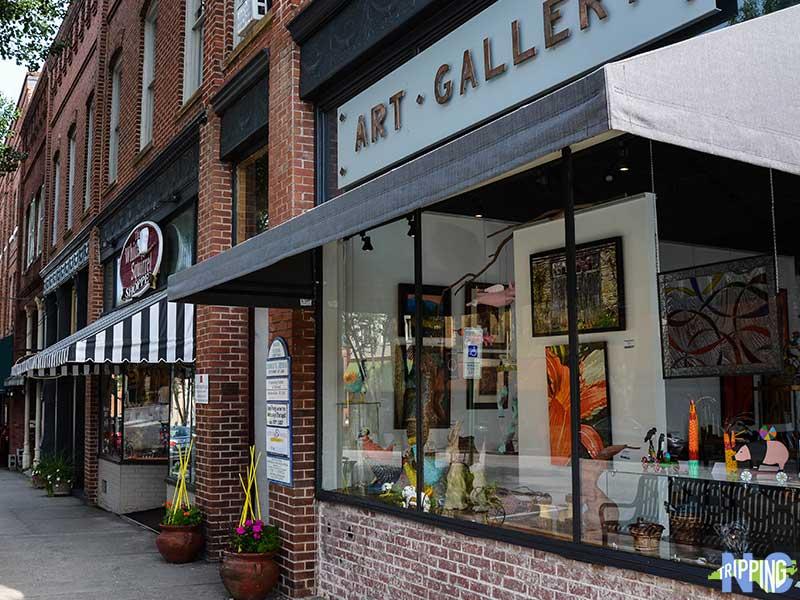 North Carolina Attractions Downtown Brevard NC