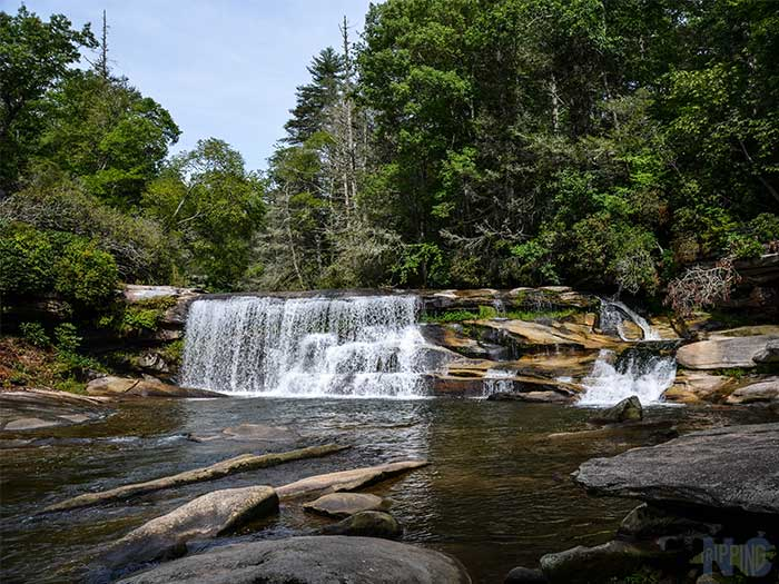 Weekend Things to Do in Brevard NC French Broad Falls Images
