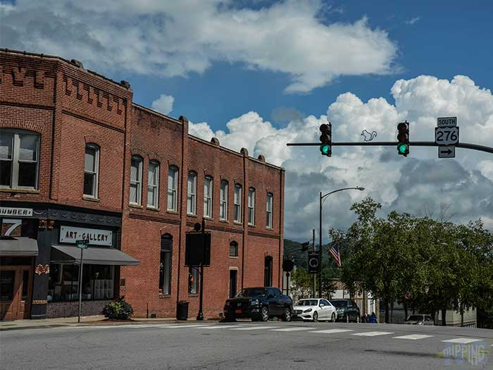 Weekend Things to Do in Brevard NC Main Street Image