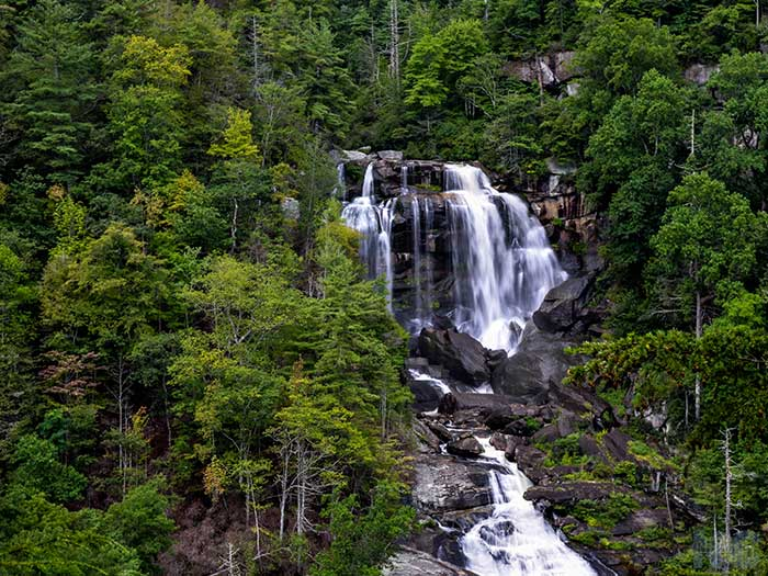 Weekend Things to Do in Brevard NC Upper Whitewater Falls Images