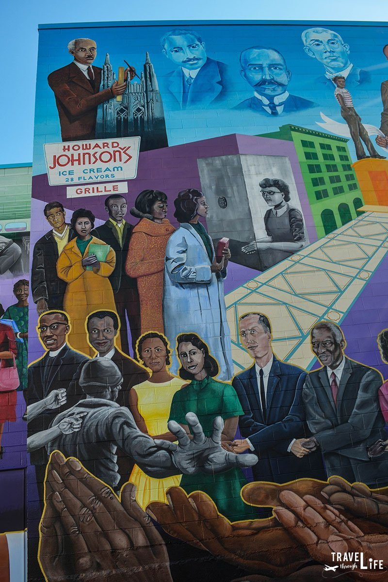 What to do in Durham NC Civil Rights Mural