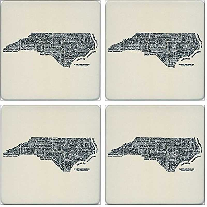 North Carolina Gifts Coasters