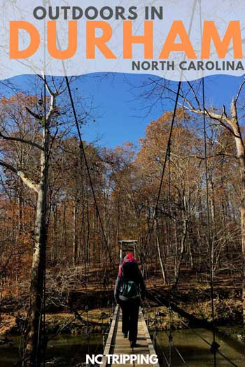 Outdoor Things to Do in Durham North Carolina Travel Guide Pin