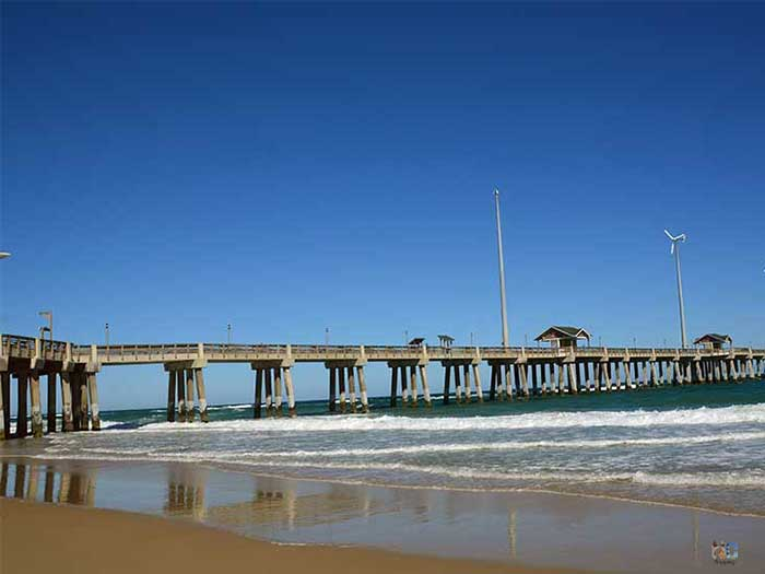 Outer Banks NC Things to Do Jennettes Pier Image