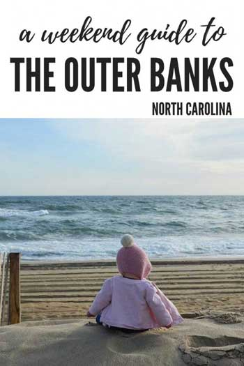 Weekend Things to Do in the Outer Banks NC Pinterest Image