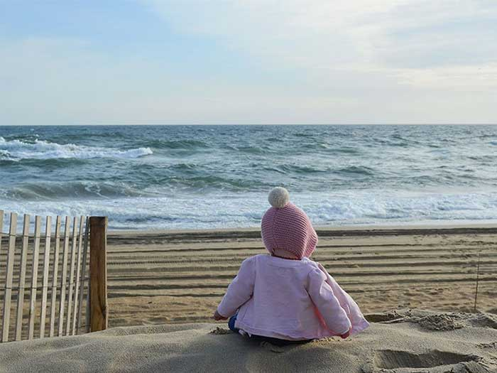 What to Do in Outer Banks Sit on the Beach Image