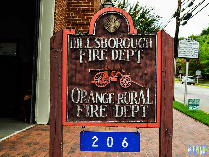 Small Towns near Durham NC Hillsborough