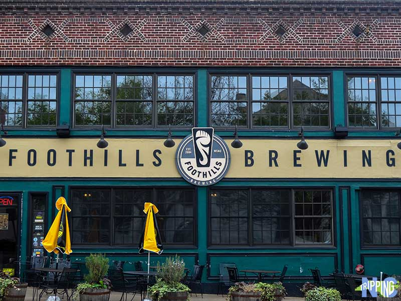 Things to do in Winston Salem NC Foothills Brewing