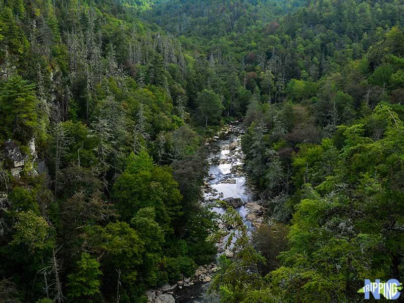 North Carolina Linville Falls Overlook