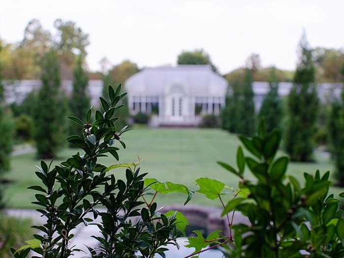 Reynolda House Winston-Salem NC From a Distance Image