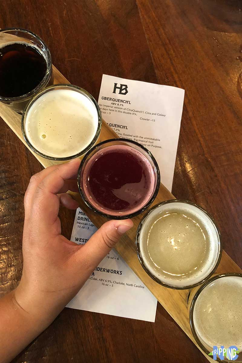 Things to Do in Charlotte NC NoDa Heist Brewing