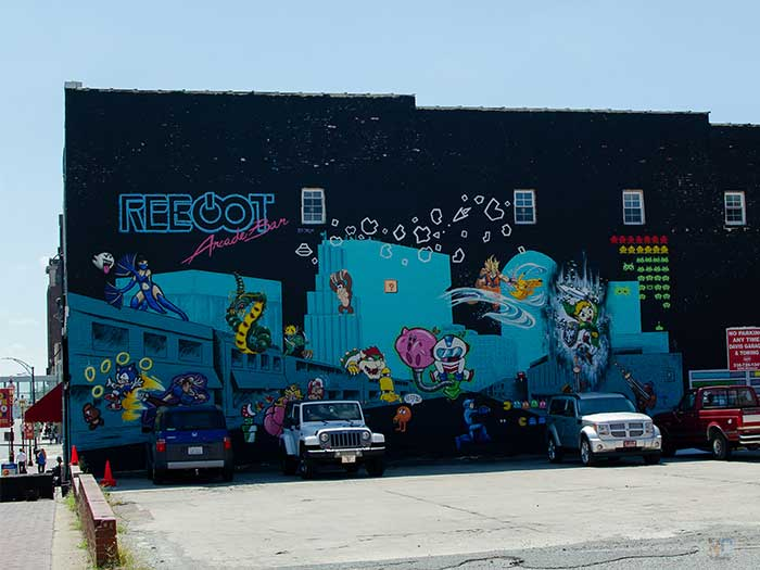 Winston-Salem NC Downtown Arts District Image
