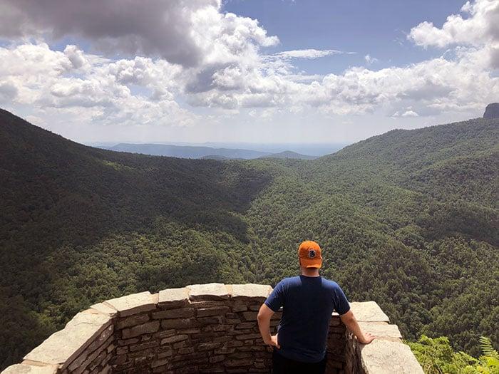 Wisemans View Linville Gorge North Carolina