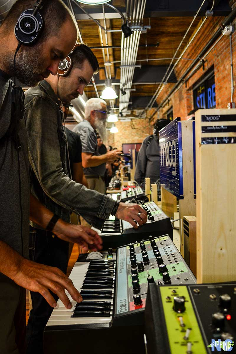 New Synths at Moogfest and Workshops in Durham NC-2018