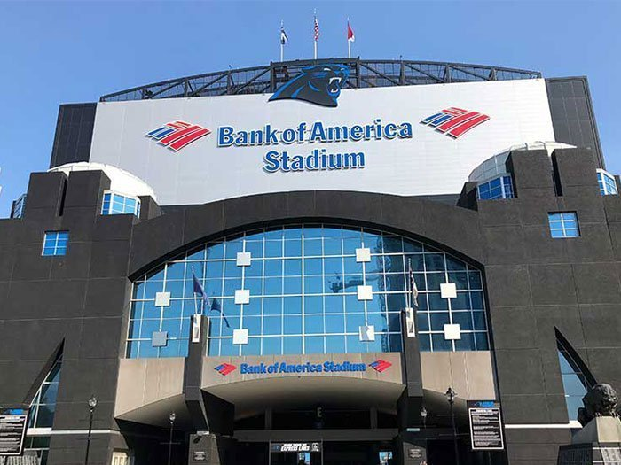 Things to do in Charlotte NC Bank of America Stadium Carolina Panthers