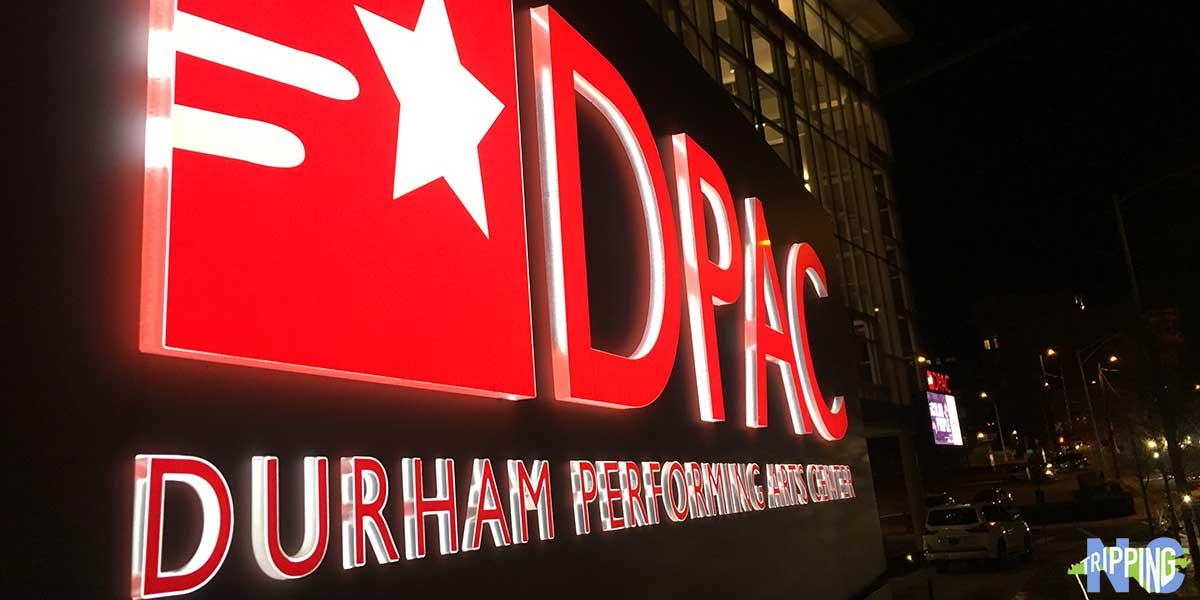 Durham Performing Arts Center DPAC in Durham NC