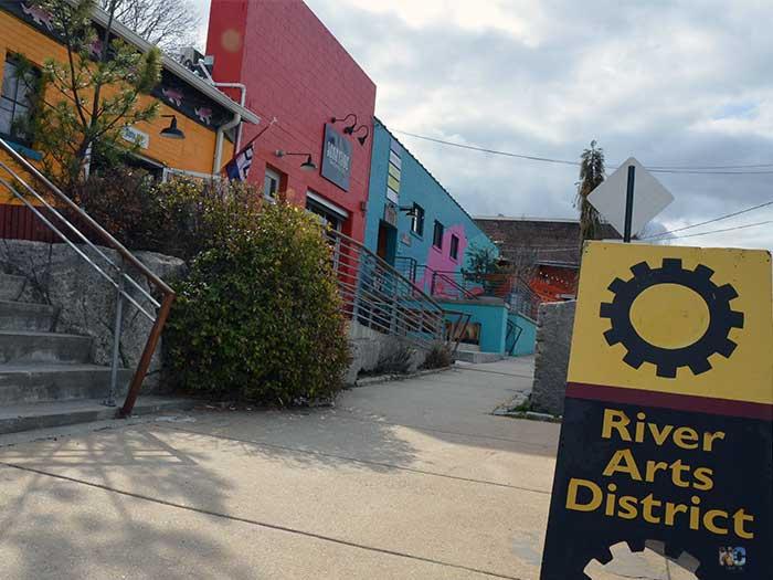 River Arts District Asheville NC Image