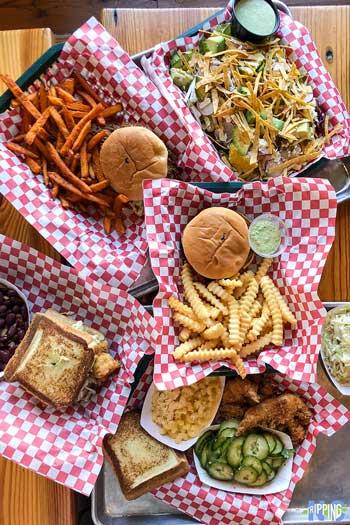 Casual Restaurants in Durham Deeluxe Fried Chicken Amazing Lunch