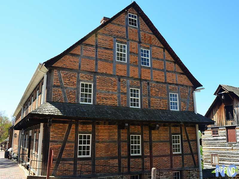 Old Salem NC Buildings