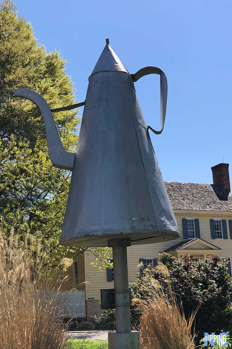 Old Salem NC Coffee Pot