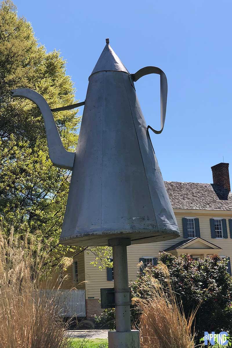 Old Salem NC Coffee Pot