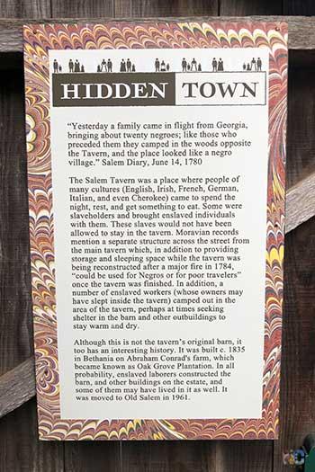 Old Salem NC Hidden Town Image