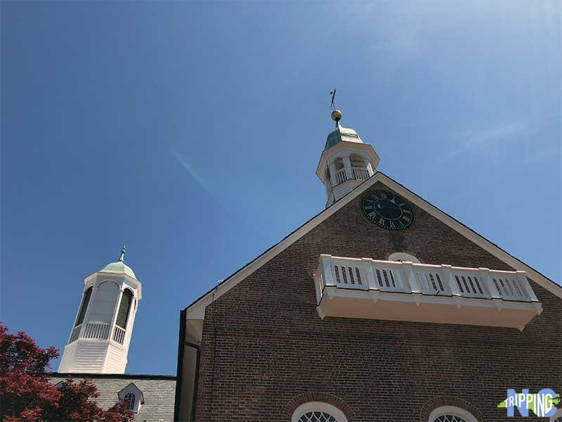 Old Salem NC Home Moravian Church