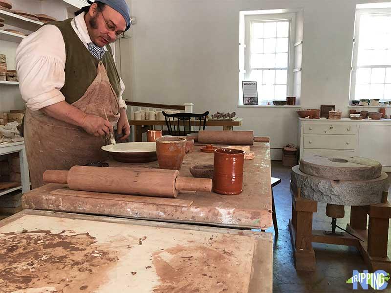 Winston Salem NC Pottery