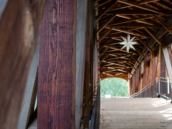 Winston-Salem North Carolina Old Salem Heritage Bridge Images