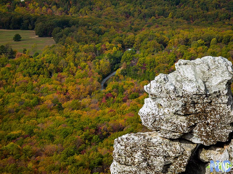 Best Places to Hike in NC Hanging Rock State Park Moores Wall