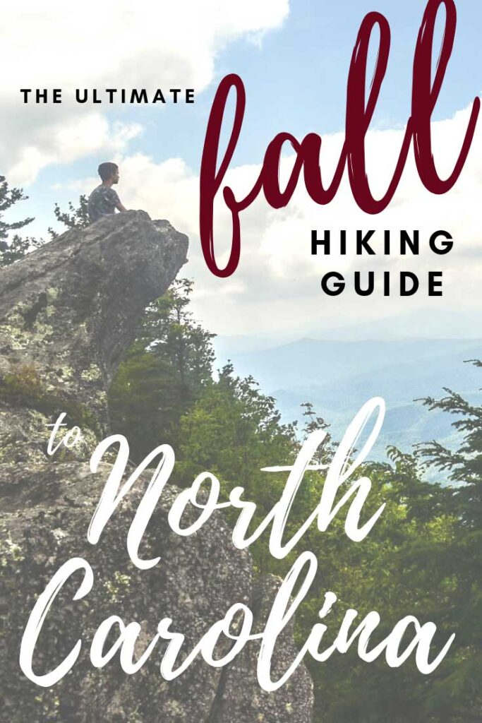 Best hikes in NC during Fall