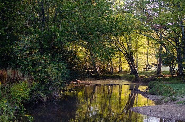 Boone Fork Trail North Carolina