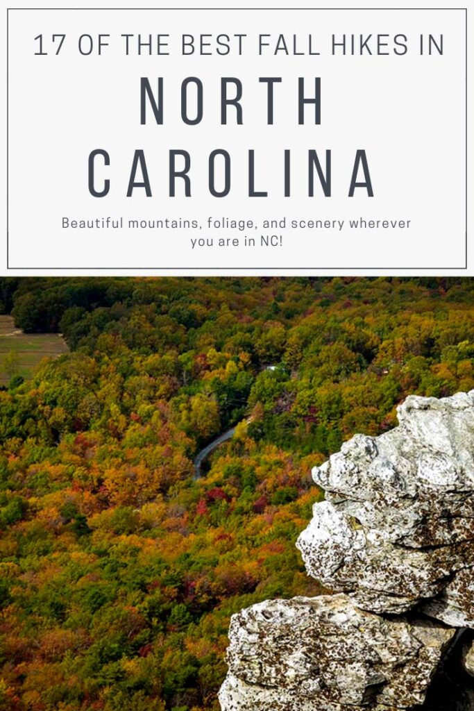 Fall in North Carolina Hiking Guide