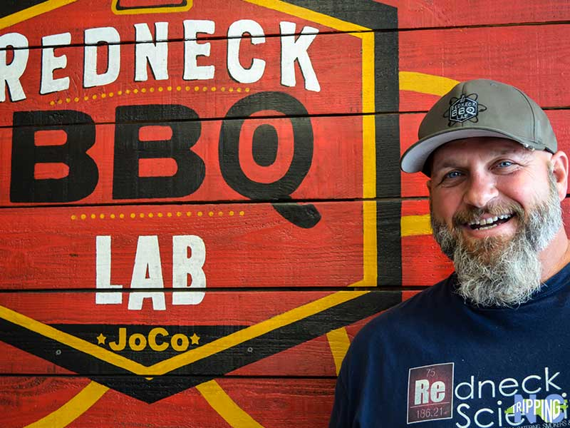 Jerry Stephenson Owner of The Redneck BBQ Lab in McGees Crossroads NC