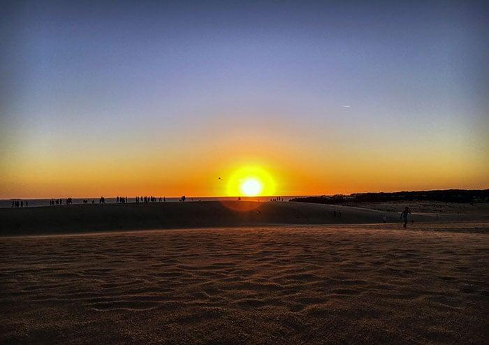 Jockeys Ridge State Park Sunset