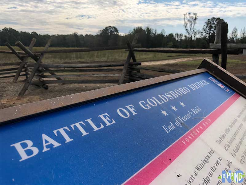 Things to do in Goldsboro NC Battle of Goldsborough Bridge Battlefield