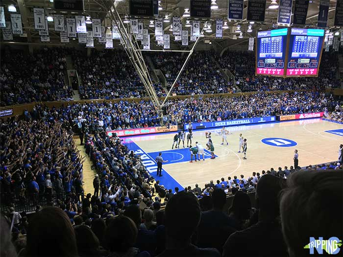 Winter Things to Do in North Carolina College Basketball