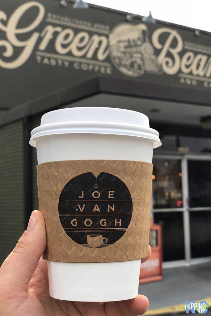 Fun things to do in Greensboro NC Green Bean Coffee