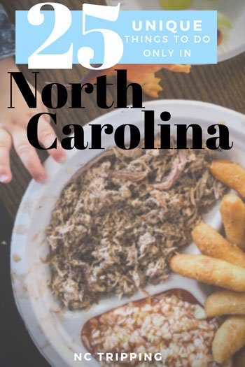 25 Unique things to do in North Carolina Travel Guide by NC Tripping