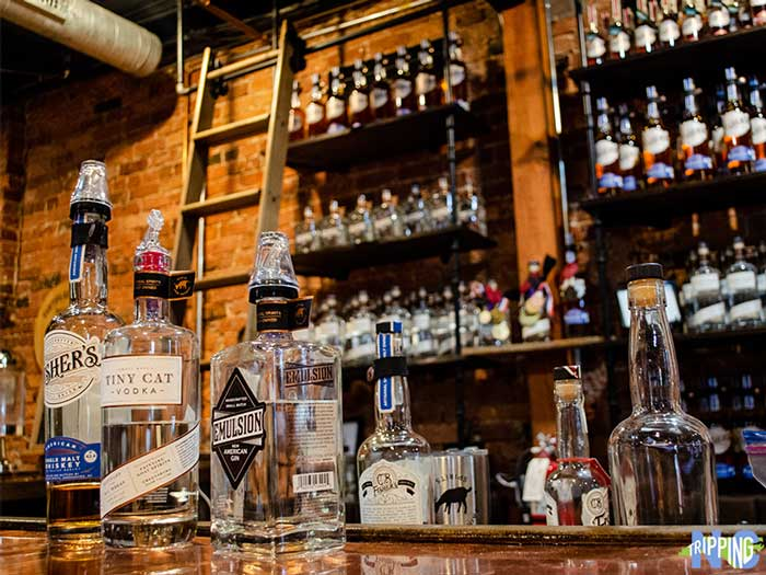 North Carolina Distilleries Fainting Goat Spirits Greensboro