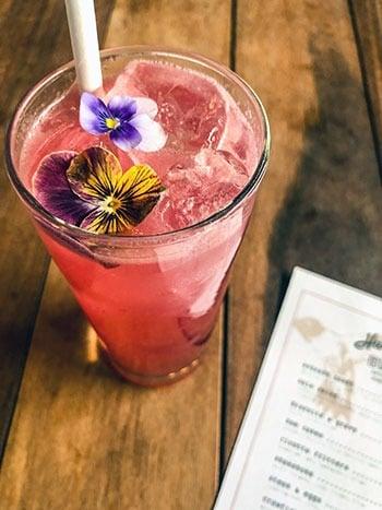 Cocktail at Hummingbird Raleigh NC
