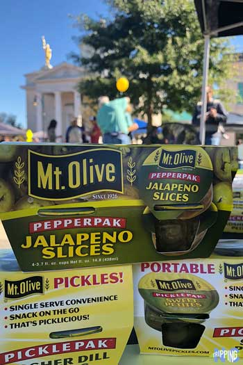 Four Ps of Goldsboro NC Mt Olive Pickles