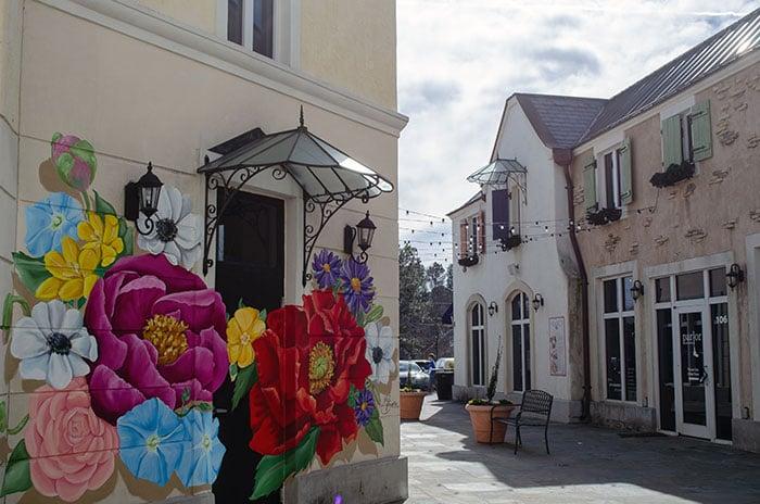 Lafayette Village Pretty Mural