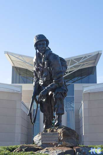 Winter things to do in Fayetteville NC US Army Airborne and Special Operations Museum Iron Mike Image