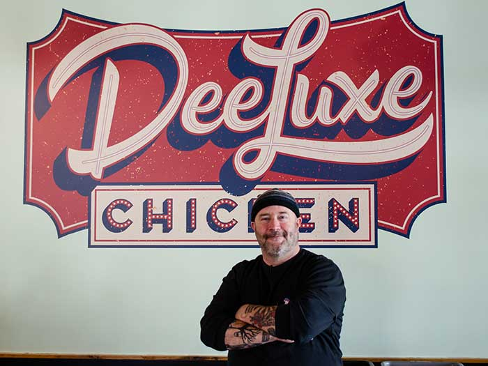 DeeLuxe Chicken Durham NC Restaurants Owner Rick Robinson Image